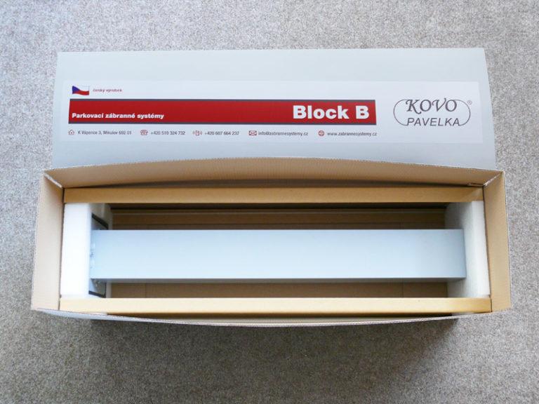 Block B: Balení