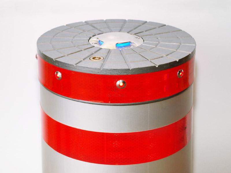 Block C/E: Osvětlení čepice LED diodami