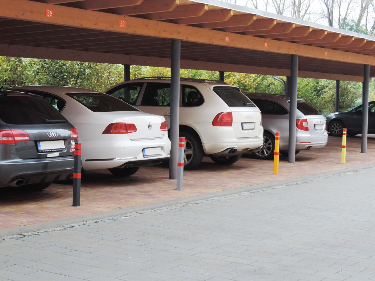 Block K: Zabezpečení parkovacích stání